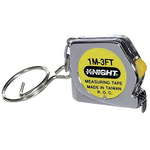 Tape Measure Key Chain