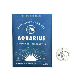 Three Potato Four Three Potato Four Astrology Card Pack - Aquarius