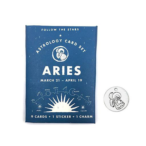Three Potato Four Astrology Card Pack - Aries