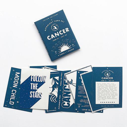 Three Potato Four Astrology Card Pack - Cancer