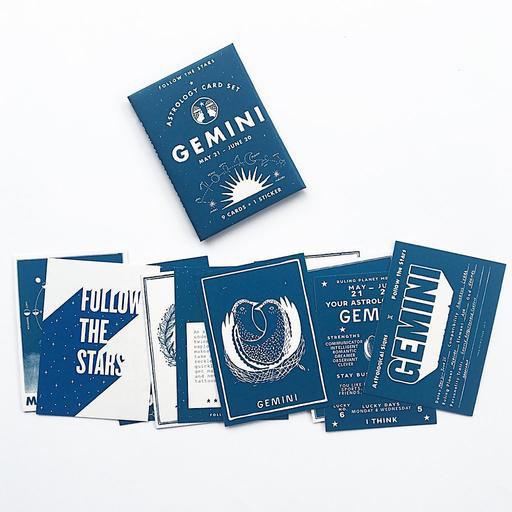 Three Potato Four Astrology Card Pack - Gemini