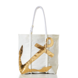 Sea Bags Sea Bags Gold Anchor Tote