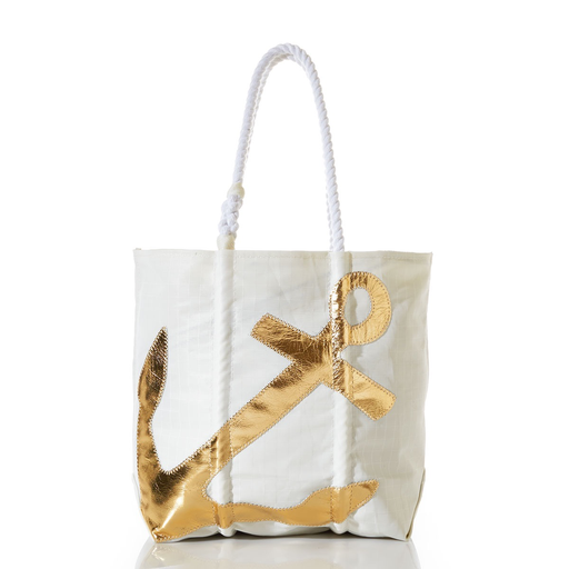 Sea Bags Sea Bags Gold Anchor Tote