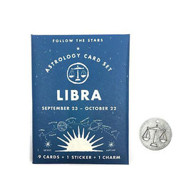 Three Potato Four Three Potato Four Astrology Card Pack - Libra