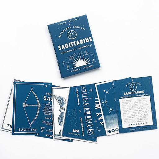 Three Potato Four Astrology Card Pack - Sagittarius