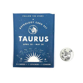 Three Potato Four Three Potato Four Astrology Card Pack - Taurus