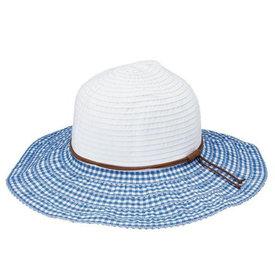 San Diego Hat Company Sun Hat - Gingham Ribbon