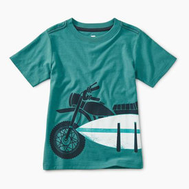 Tea Collection Tea Collection Moto Board Graphic Tee
