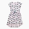Tea Collection Printed Hi-Lo Tie Waist Dress