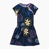 Tea Collection Printed Raglan Dress