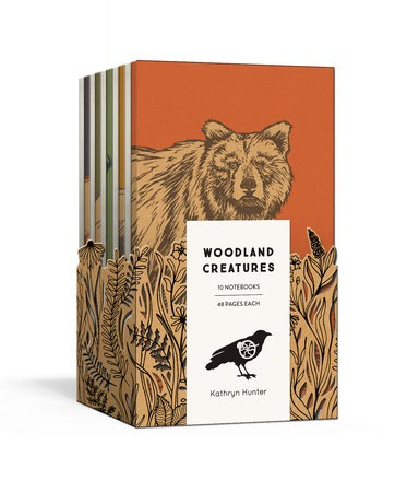 Woodland Creatures: A 10 Notebook Set