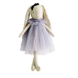 "Alimrose Alimrose Baby Beth Bunny - Lavender 16"""