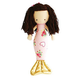 Alimrose Alimrose Mermaid Doll - Heart Pink