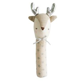 Alimrose Alimrose Reindeer Squeaker - Silver Star
