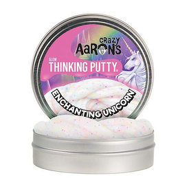 "Crazy Aaron Crazy Aaron's Thinking Putty - 4"" - Enchanting Unicorn"