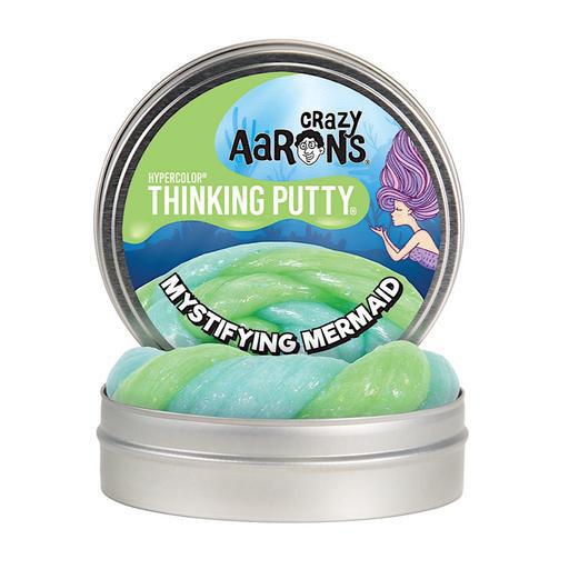 "Crazy Aaron Crazy Aaron's Thinking Putty - 4"" - Mystifying Mermaid"