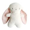 Alimrose Bobby Snuggle Bunny - Pink Linen