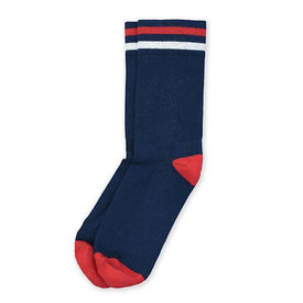 American Trench American Trench Kennedy Lux Athletic Socks - Navy Body with Stripe
