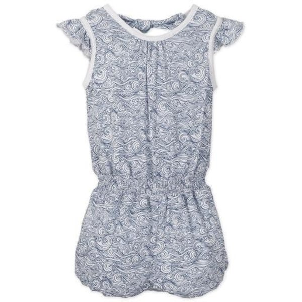 Feather Baby Feather Baby Tie Romper - Anime