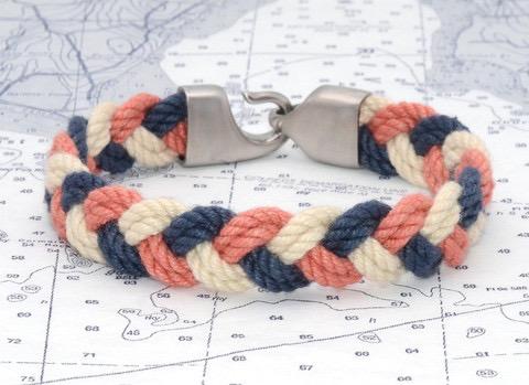 Lemon & Line Turk's Head Rope Bracelet