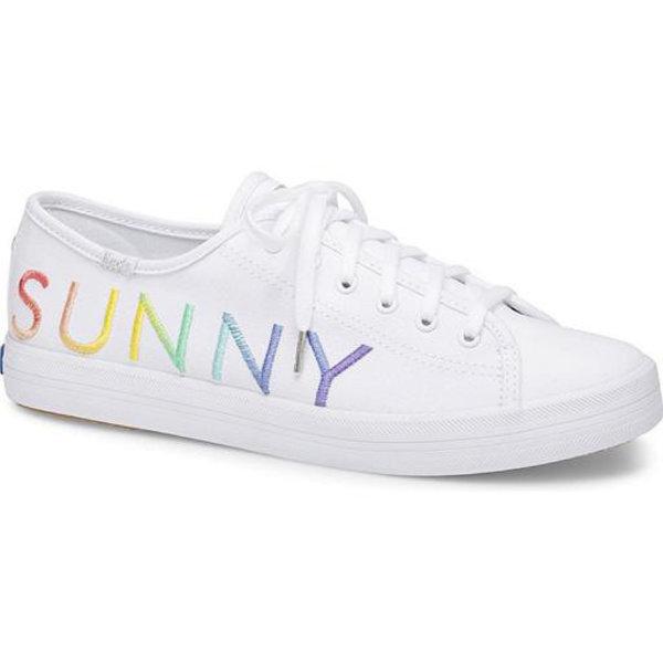 KEDS KEDS Adult + Sunnylife - Kickstart / Sunnylife Logo - White Multi