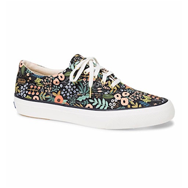 KEDS KEDS Adult + Rifle Paper Co. - Anchor / Lourdes Floral - Black