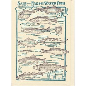 Saturn Press Saturn Press Fishes Card
