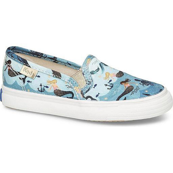 KEDS KEDS Little Kid + Rifle Paper Co. - Double Decker - Mermaid