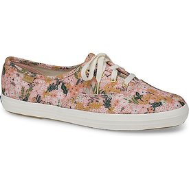KEDS KEDS Adult + Rifle Paper Co. - Champion / Meadow - Pink