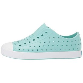 Native Shoes Native Shoes Jefferson Child - Hydrangea Blue/Shell White