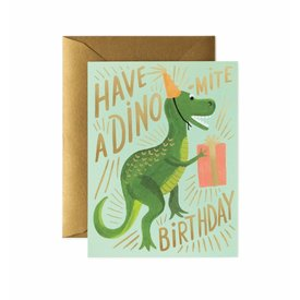 Rifle Paper Rifle Paper Co. Card - Dino-Mite Birthday