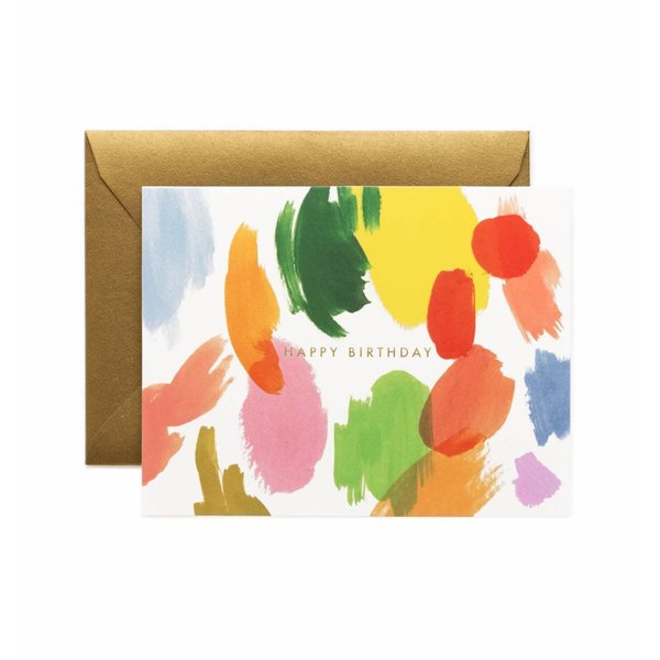 Rifle Paper Rifle Paper Co. Card - Palette Birthday