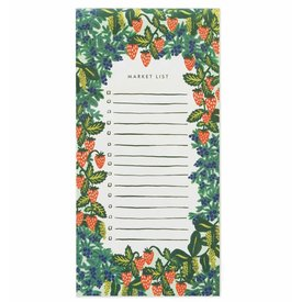 Rifle Paper Rifle Paper Co. Market Pad - Strawberry Fields