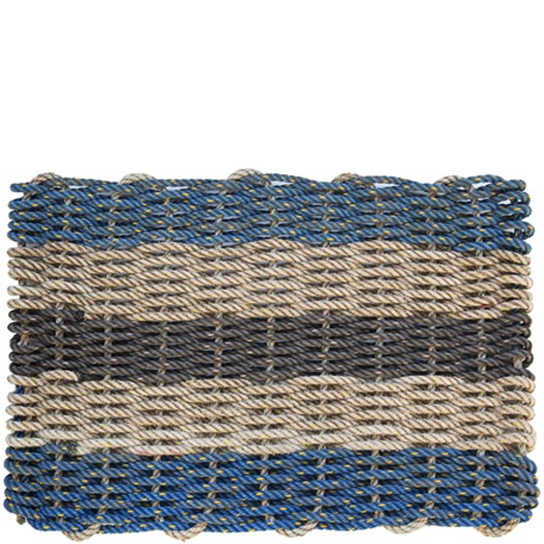 Cape Porpoise Trading Co. Cape Porpoise Trading Co. Recycled Rope Mat - Dock Square - Standard