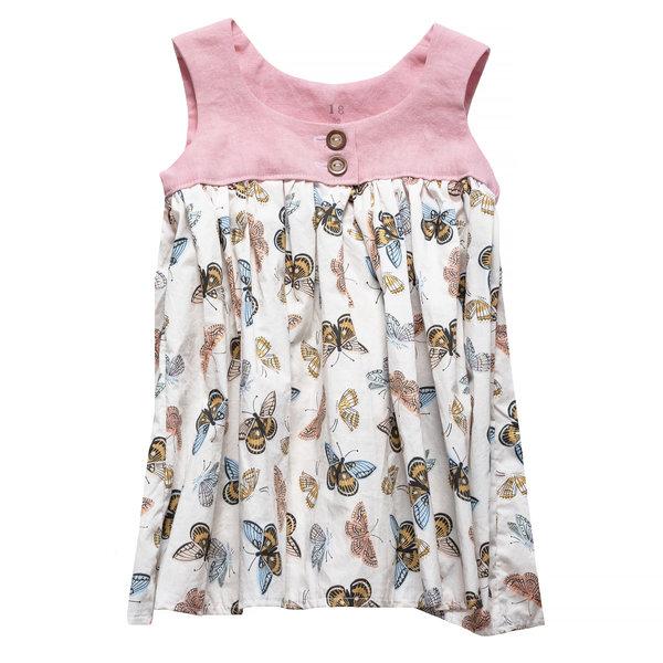 Two Little Beans & Co. Two Little Beans Dress - Rifle Butterflies