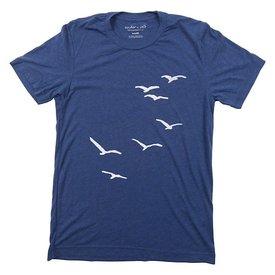 cinder + salt Cinder + Salt Seagull T-Shirt - Navy