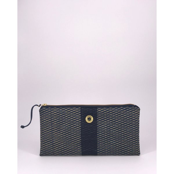 Alaina Marie Alaina Marie Bait Bag Clutch - Gold & Black
