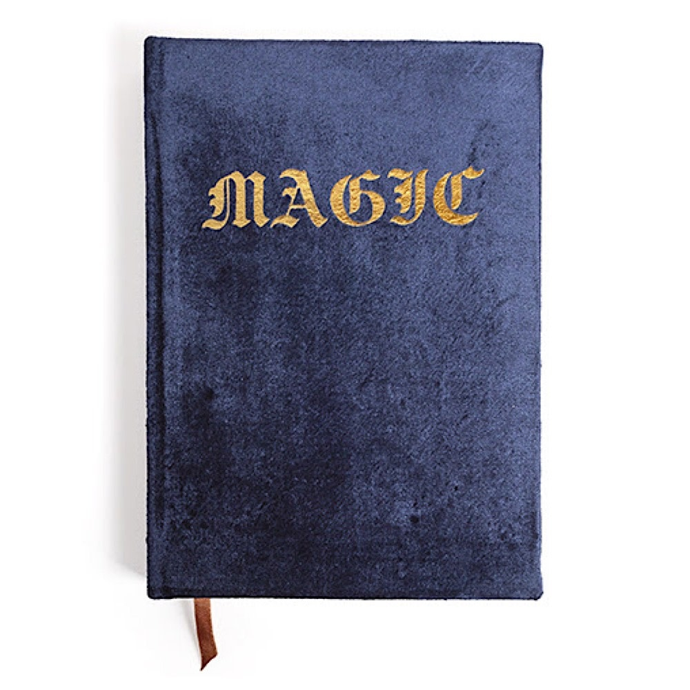 Printfresh Studio Magic Velvet Journal - Navy