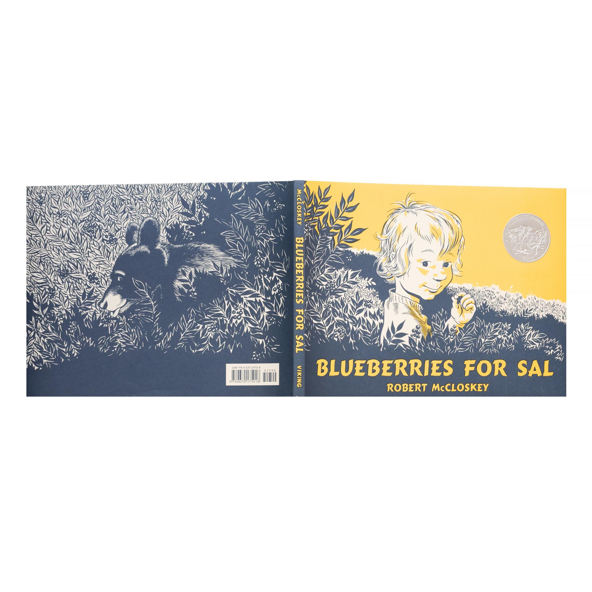 Blueberries For Sal Hardcover