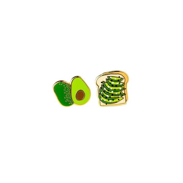 Yellow Owl Workshop Yellow Owl Workshop Earrings - Avocado Toast