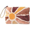Printfresh Studio Sunburst Tufted Pouch
