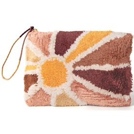 Printfresh Studio Printfresh Studio Sunburst Tufted Pouch