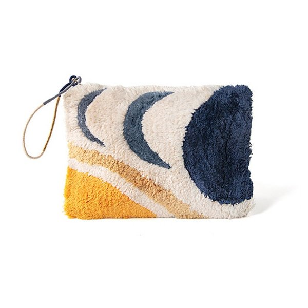 Printfresh Studio Printfresh Studio Moonrise Tufted Pouch