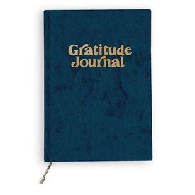 Printfresh Studio Printfresh Studio Mini Journal - Navy Fade Velvet Gratitude