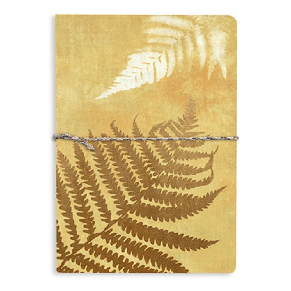 Printfresh Studio Golden Ferns Medium Fabric Journal
