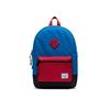 Herschel Kids Heritage Backpack - Imperial Blue Red/Black Crosshatch