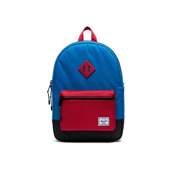 Herschel Supply Co. Herschel Kids Heritage Backpack - Imperial Blue Red/Black Crosshatch