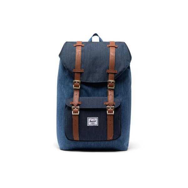 Herschel Supply Co. Herschel Little America Mid-Volume Backpack - Faded Denim/Indigo Denim