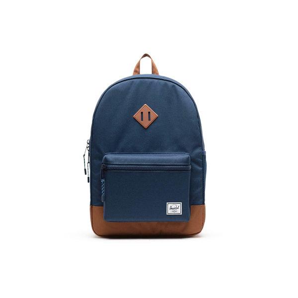 Herschel Supply Co. Herschel Kids Heritage Backpack - Navy/Saddle Brown
