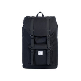 Herschel Supply Co. Herschel Little America Mid-Volume Backpack Black/Black Crosshatch